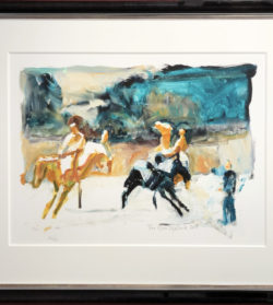 Bilde av kunsttrykket Hestene i Oscars gate
