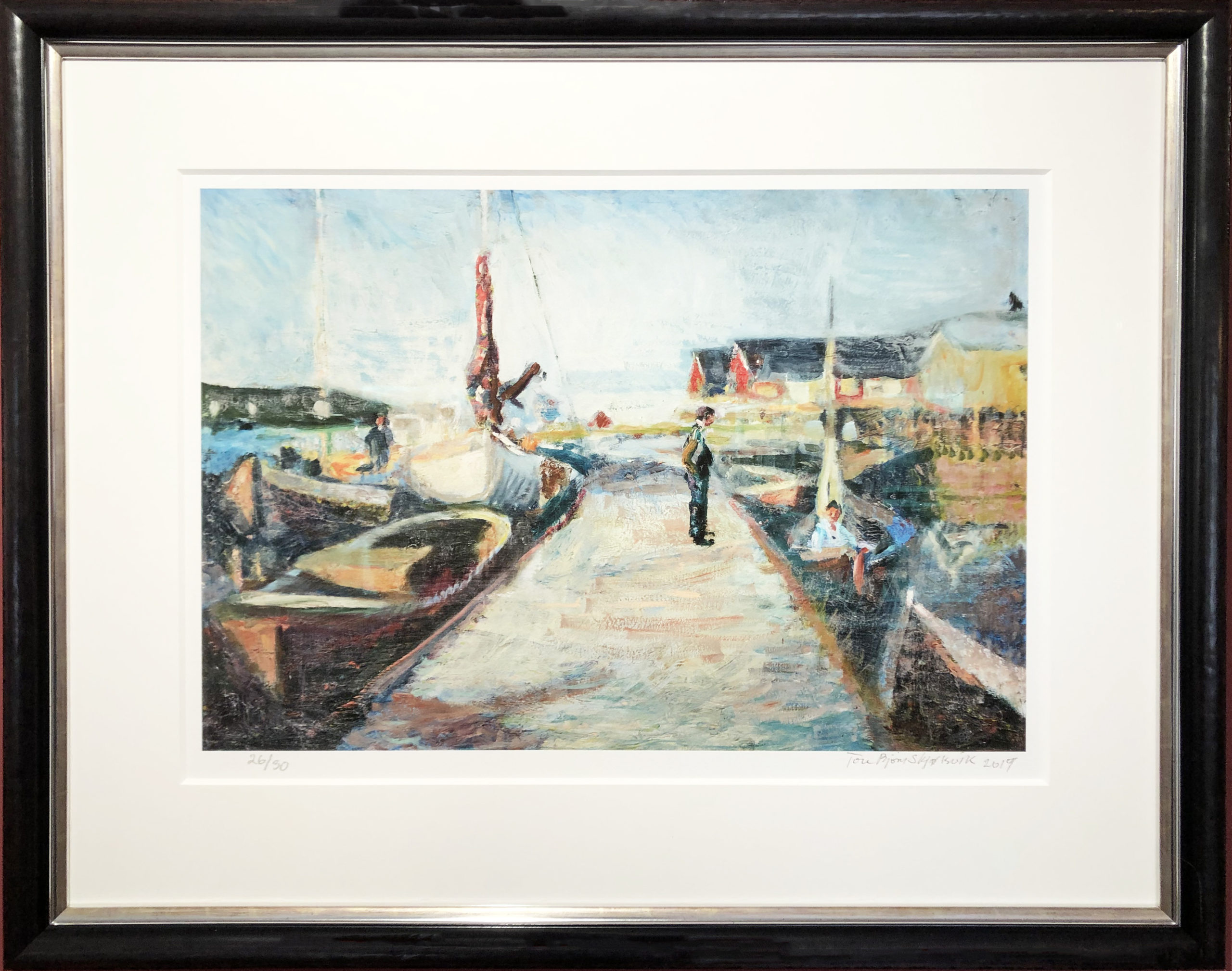 Picture of the art print Havnen